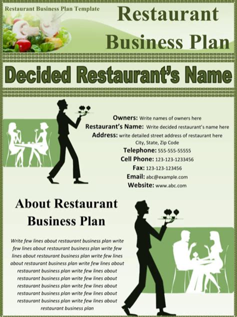 exle of proposal restaurant business powerful photo so laurelsimpson com download restaurant business plan template for free formtemplate