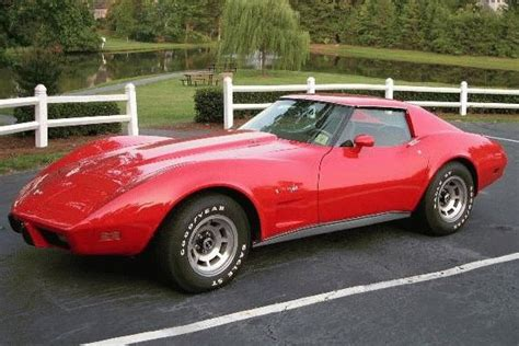 '77 red Corvette. I have always loved this car and this