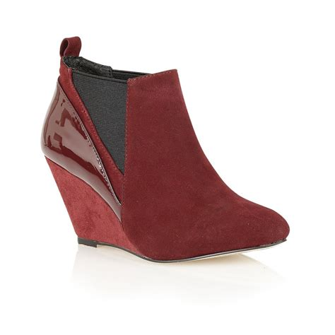 buy ravel indiana wedge ankle boots in