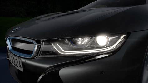 bmw i8 headlights bmw laserlight in the 2014 bmw i8 youtube