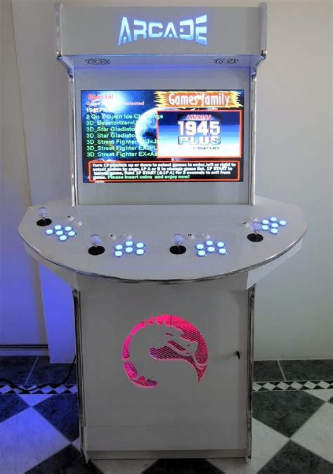 completed 4 player upright arcadeworx