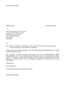Authorization Letter Format For Income Tax rrb income tax letters