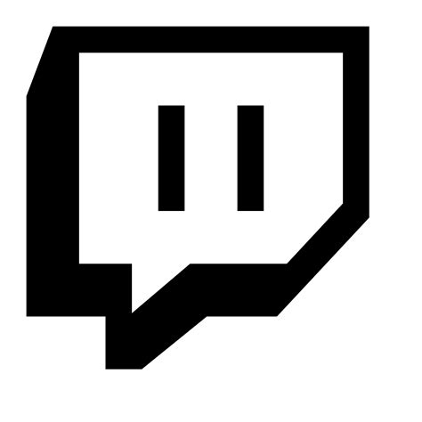 twitch black twitch icon free at icons8