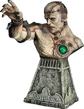 Figure Frankenstein Vanhelsing helsing frankenstein s bust sideshow