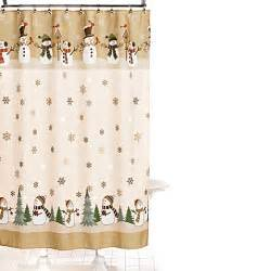 Snowman Kitchen Curtains Buy Heartland Snowman 70 Inch X 70 Inch Shower Curtain And Hook Set From Bed Bath Beyond