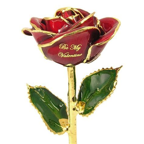 Personalized Valentine's Day Rose Gift: Love Is A Rose