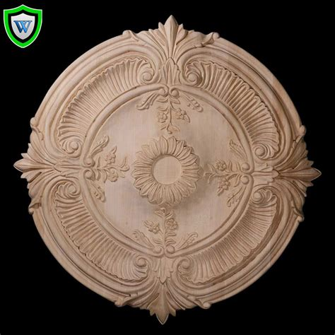 wood ceiling medallions 16 quot od x 1 1 8 quot p carved acanthus leaf wood ceiling medallion chadsworth columns