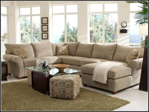 sectional sofas with chaise lounge and ottoman 10 collection of sectional sofas with chaise lounge and