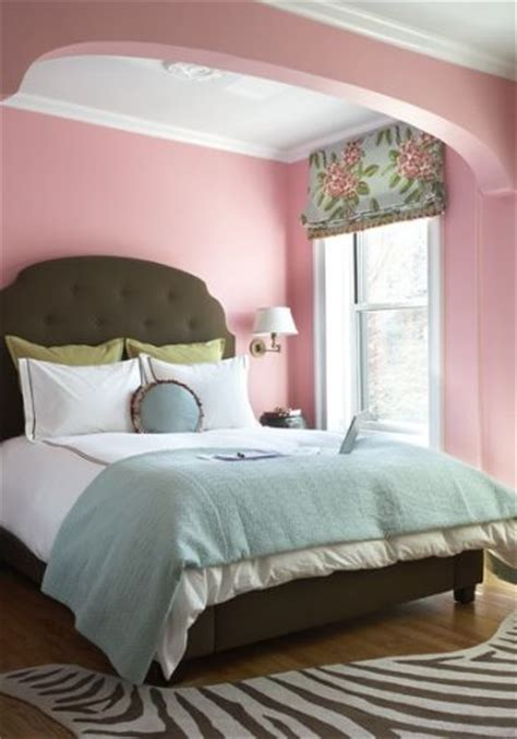 pink walls bedroom bold color combo pink teal
