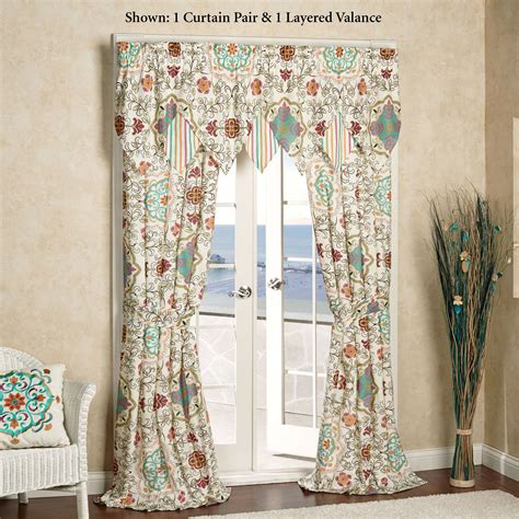 Bohemian Window Curtains Cote D Azur Bohemian Window Treatment