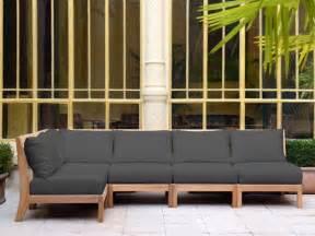 mobilier de jardin design tectona canap 233 jardin bois