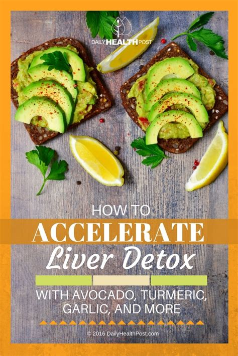 Turmeric Liver Detox by How To Accelerate Liver Detox With Avocado Turmeric