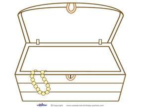 treasure chest template photobooth outline prop new calendar template site
