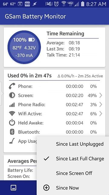 reset android battery statistics battery stats reset after reboot android forums at