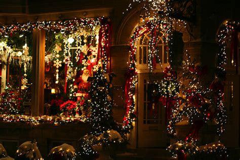 christmas light lights merry christmas night image