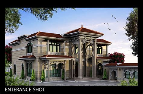 house design in qatar quot villa khaled quot exterior design in doha qatar on behance