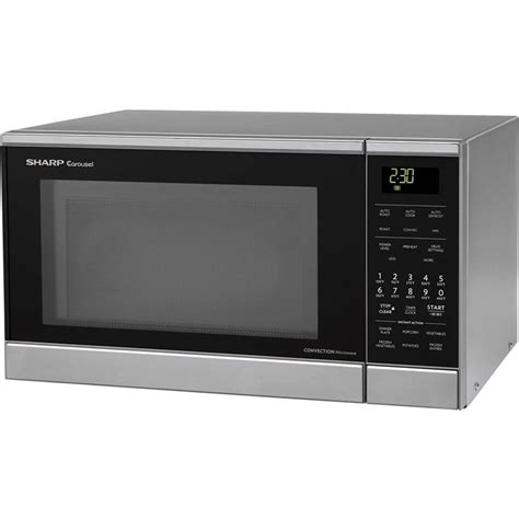 Microwave Oven Sharp R 249 In r830bs sharp 0 9 cu ft countertop microwave oven convection roasting baking 900 watts