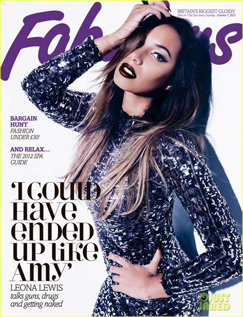 Heres To A Fabulous by Sized Photo Of Leona Lewis Covers Fabulous Uk