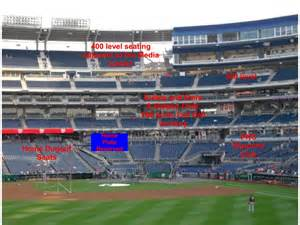 washington nationals club seats the capital conjecture breaking nationals park