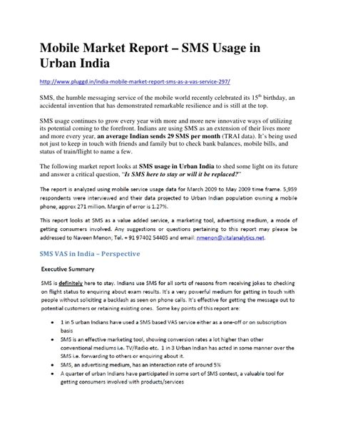 free sms to mobile india mobile market report sms usage in india
