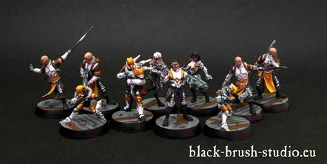 Infinity Yu Jing Blister black brush studio miniature painting services infinity