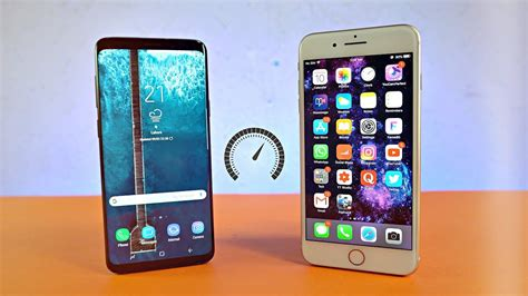 Samsung Galaxy S10 Vs Iphone 7 Plus by Samsung Galaxy S9 Plus Vs Iphone 8 Plus Speed Test 4k
