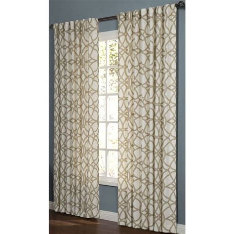 drapes of roth curtains for family room shop allen roth oberlin 84