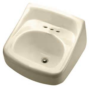 crane bathroom sink shop crane plumbing clayton bone wall mount rectangular