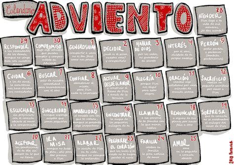 K Calendario Tras Y Cart 243 N Calendario Adviento 2010