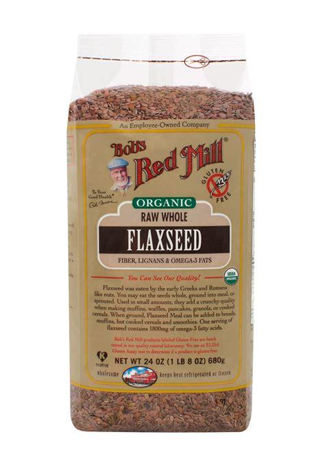 Organic Brown Flaxseed bob s mill gluten free organic flaxseed brown 4 24oz