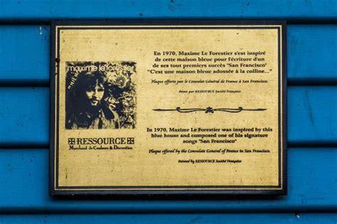 Maison Bleue Maxime Le Forestier by Maison Bleu Tram 224 Proximit 233 Photo De Maison Bleu Maxime