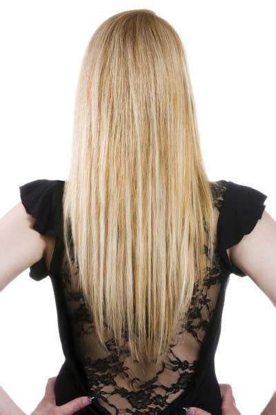 Long Hairstyles: U shaped, V shaped or straight across back?