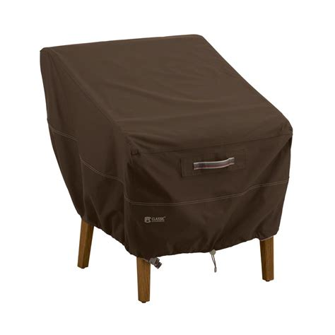 Classic Accessories Patio Furniture Covers Classic Accessories Madrona Rainproof Patio Chair Cover 55 717 016601 Rt The Home Depot