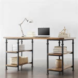 industrial office furniture tribecca home myra vintage industrial modern rustic