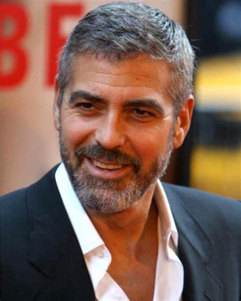Kapsels Voor Mannen by Het Kapsel George Clooney Mannen Kapsels 2017