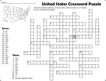 united states crossword puzzle and word search by paula