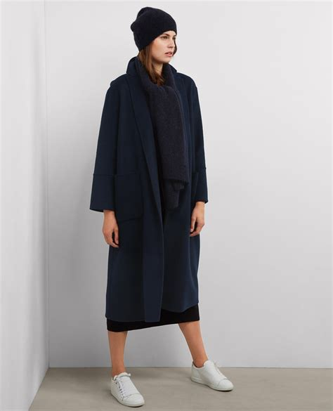 Maxi Coat oversize maxi coat with wool bille comptoir