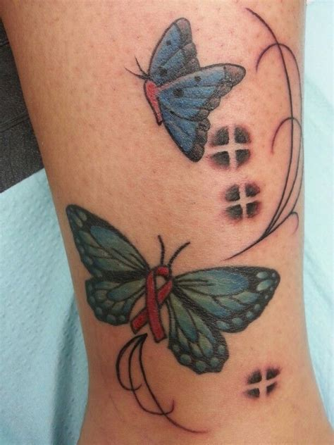 butterfly tattoo cancer ribbon 51 best images about pink ribbon butterfly tattoos on