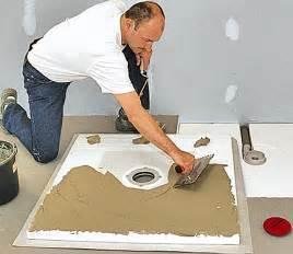 dusche einbauen anleitung bodengleiche dusche einbauen selbst de