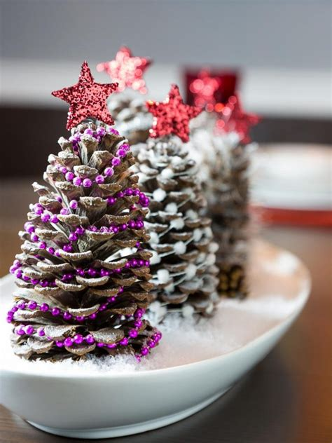 beautiful pine cone centerpieces you make for