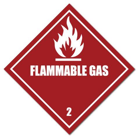 Aufkleber Claas by Hazmat Class 3 Flammable Liquid Stickers