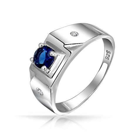 mens sapphire rings