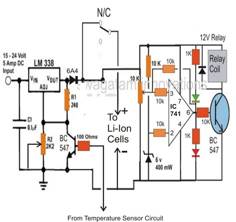 lithium ion battery charger circuit 25 li ion battery charger circuit