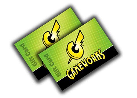 Play Games To Get Gift Cards - gameworks gift cards