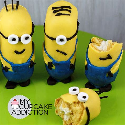 minion twinkie 15 totally awesome minions food ideas brownie