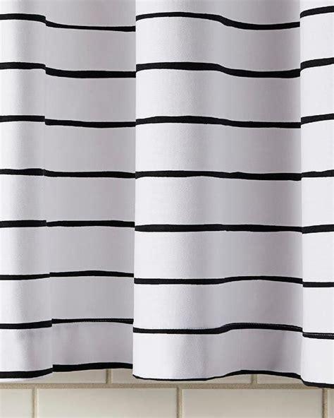 black and white horizontal striped shower curtain black white striped shower curtain curtain menzilperde net