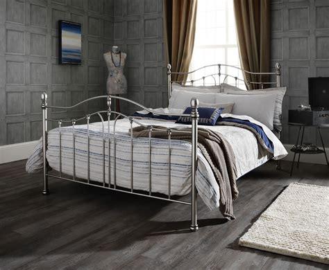 antique metal bed camilla antique black nickel metal bed frame