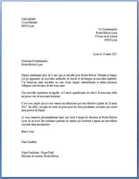 Exemple De Lettre De Démission Cdd Exemple De Lettre De D 233 Mission Compl 233 T 233 E Lettreded 233 Mission Org