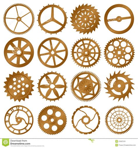 set of vector graphic elements royalty free stock photos set of vector design elements watch gears royalty free