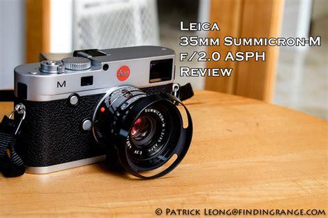 leica 35mm leica 35mm summicron m f 2 0 asph review